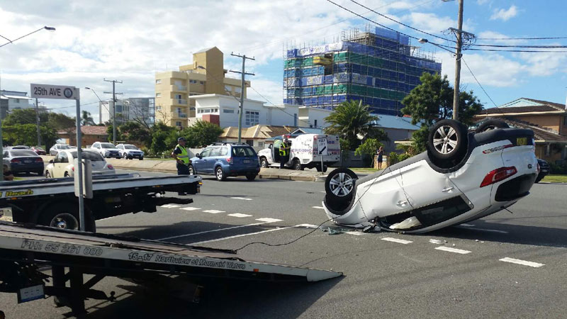 Gold Coast Light and Heavy Crash