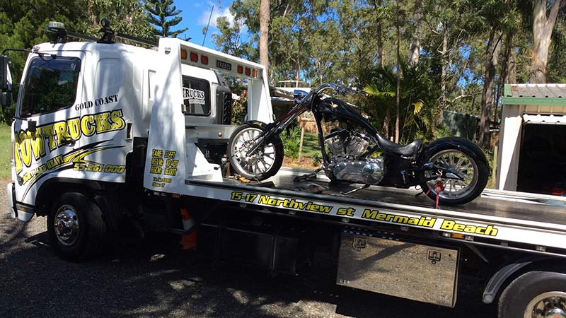 Gold Coast Motorbike Towing