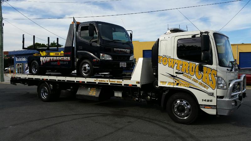 Black Tow Truck